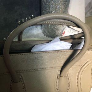 Celine Bags - Beige Celine phantom luggage bag